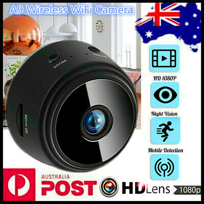 Mini Spy IP Camera Wireless HD 1080P Magnetic Smart Network Monitor Security AU