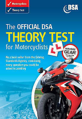 The Official DSA Theory Test for Motorcyclists 2008/09 Edition: Valid for Tests