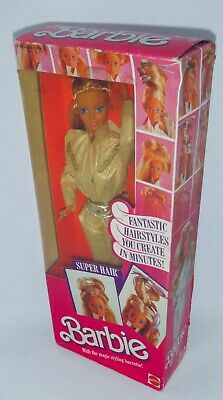 1986 Super Hair Barbie BNIB