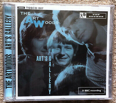 THE ARTWOODS  'Art's Gallery' Top Sounds CD BBC sessions mod beat HEAR!
