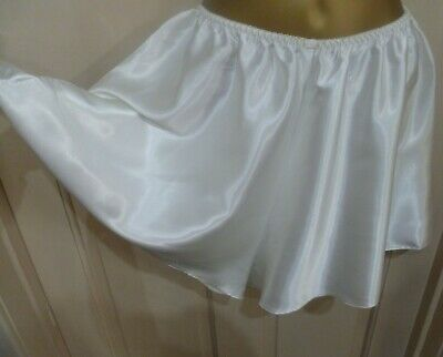 Vintage St Michael Gorgeous Cream Slithery Liquid Satin Cami Knickers Size 14