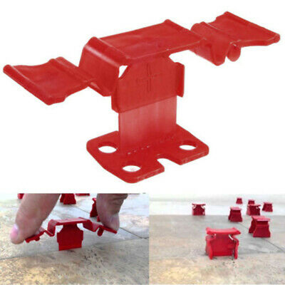 New 50Pcs Buckle Down Type Tile Leveling Spacer System Construction Tools