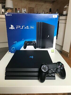 Sony PlayStation 4 PS4 Pro 1TB, Boxed With 1 Controller