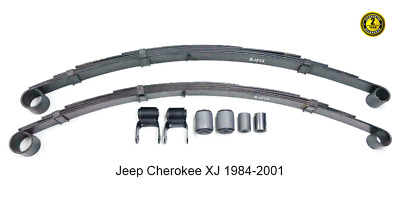 Jeep Cherokee XJ 2 x Rear Heavy Duty Leaf Spring KIT 1984-2001