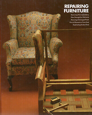 repairing furniture time life  hardback book in  new condition.