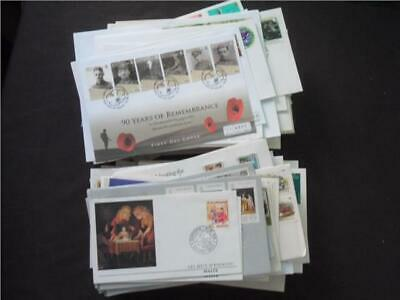 UPA5048 NR 118 pics  BRITISH COMMONWEALTH FIRST DAY COVERS & COVERS COLLECTION