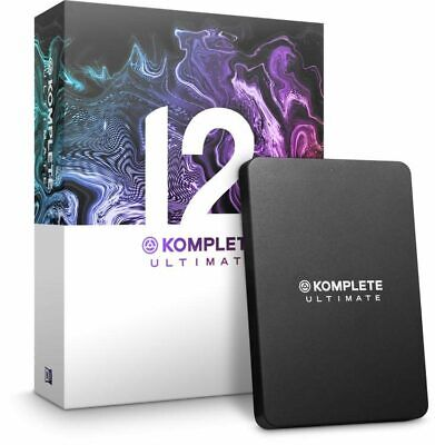 New Native Instruments Komplete 12 Ultimate Update Software Suite - Low Price