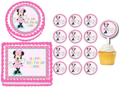 Excellent Party Supplies Baby Minnie Mouse 1St Birthday Mini Molded Candles Funny Birthday Cards Online Alyptdamsfinfo