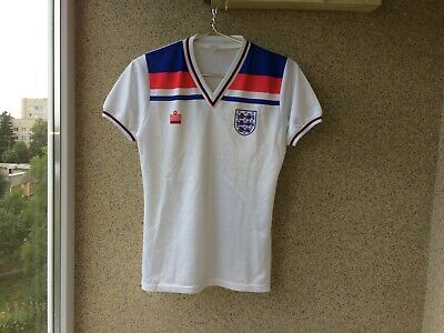 England Home football shirt 1980/1983 Soccer Admiral Jersey OLD Camiseta S