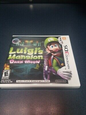 Luigi's Mansion: Dark Moon (Nintendo 3DS, 2013)