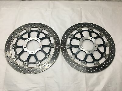 Ducati OEM BRAKE 848 EVO 1098 Front Disks Pair Set Superbike **GREAT CONDITION**