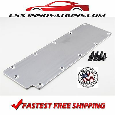 LS1 Valley Cover Plate Billet Aluminum Carbureted conversion LQ4 LQ9