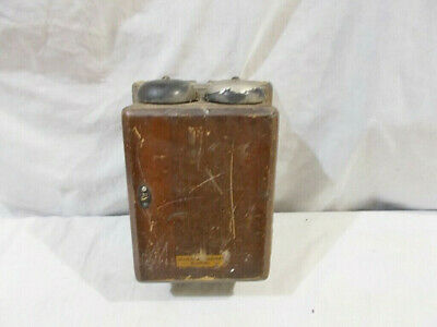 1914 295A Western Electric Style N.E. Wooden Bell Box