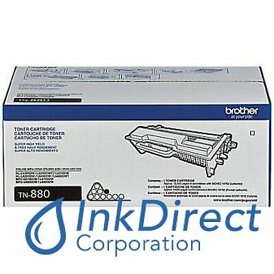 Genuine Brother TN880 TN-880   Toner Cartridge Black