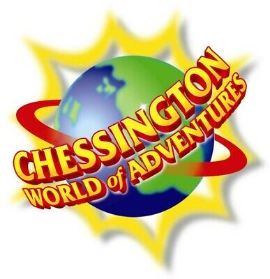 2 tickets to Chessington world of adventure Saturday 31st August e-tickets