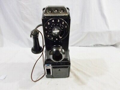 1948 2-PC Automatic Electric 3-Slot Payphone
