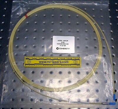 COHERENT FIBER OPTIC CABLE for VERDI LASER pn 1035444 rev AD, NEW