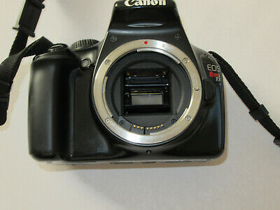 Canon Rebel T3 - 1100D 12.2MP Body + Charger + SD Card
