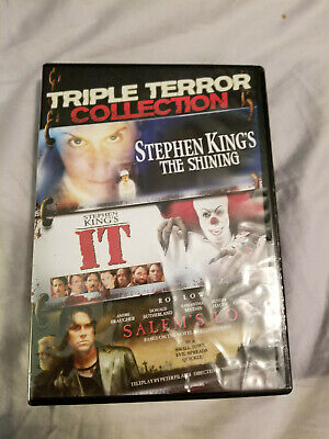 Stephen King Triple Terror Collection - Minseries Bundle - DVD - Very Good