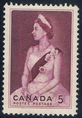 Canada #433(1) 1964 5 cent Queen Elizabeth II ROYAL VISIT in 1964 MNH