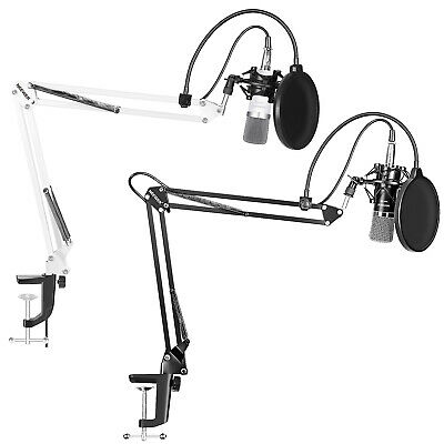 NW-700 Microphone Kit (White) and NW-700 Studio Recording Microphone Kit (Black)