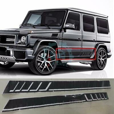 2x Graphics Decals Strips Car Stickers For Benz W463 G-class G63 G500 jap