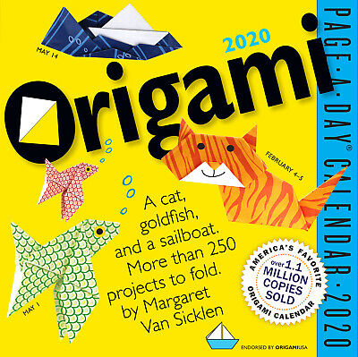 Origami 2020 Boxed Calendar by Workman