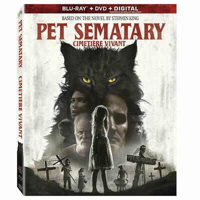 Pet Sematary ( Blu-ray/DVD/Digital ) with slipcover