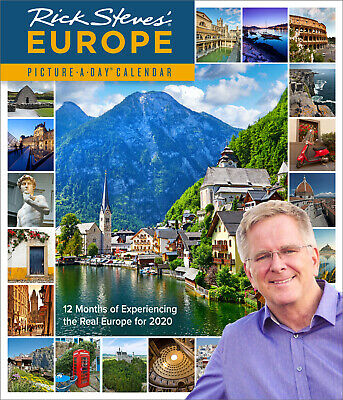 Rick Steves' Europe 2020 Deluxe Wall Calendar by Workman