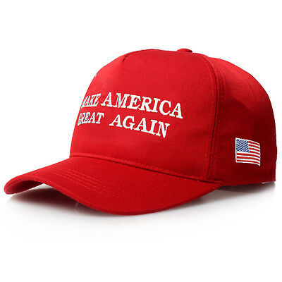 2-Pack MAGA Make America Great Again President Donald Trump Hat Cap Embroidered