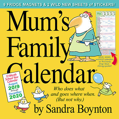 Mum's Family 2020 Square Wall Calendar by Workman