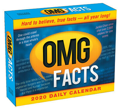 OMG Facts 2020 Boxed Calendar by Browntrout