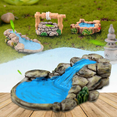 DIY Miniature Fairy Garden Lawn Ornament Decor Craft Pot Accessories Dollhouse