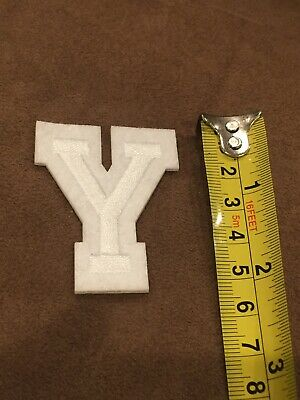 Letter Y       Alphabet 26 Letters Embroidered Iron On Patch Sew DIY Accessories