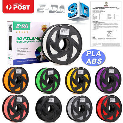 1.75mm 3D Printer Filament PLA/ABS Accuracy +/- 0.03mm 2.2 LBS (1KG) Spool OZ