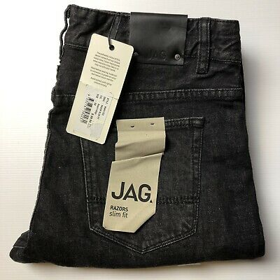 Jag Razor Slim Fit Jeans Size 32 Black Brand new with tags RRP 99.95