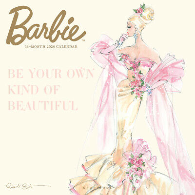 Barbie 2020 Square Wall Calendar by Browntrout