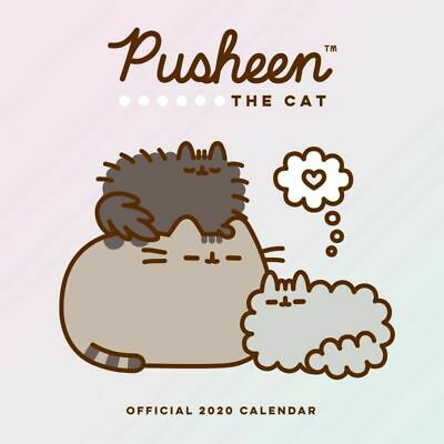 Pusheen 2020 Square Wall Calendar by Browntrout