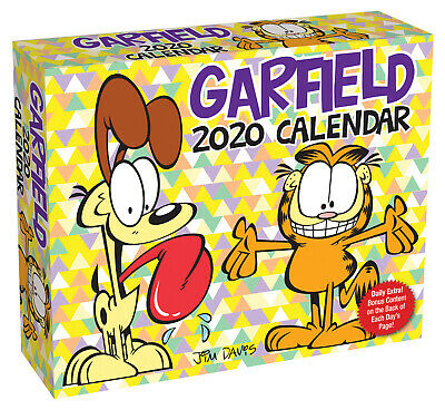 Garfield 2020 Day-to-Day Boxed Calendar