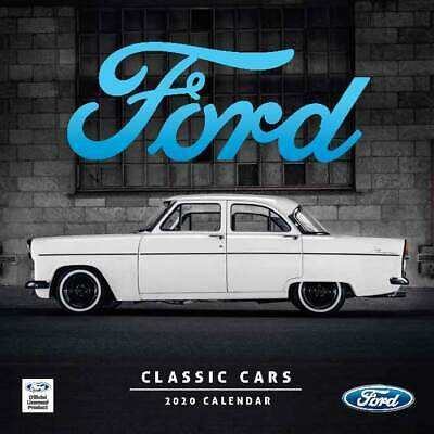 Classic Ford Cars 2020 Mini Wall Calendar by Browntrout