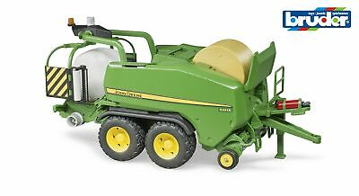 John Deere C441R Round Baler with Wrapper- Bruder 02032 Scale 1:16 NEW RELEASE