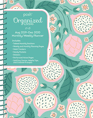 Posh: Dragonfruity Org Living 2020 Monthly/Weekly Planner Diary