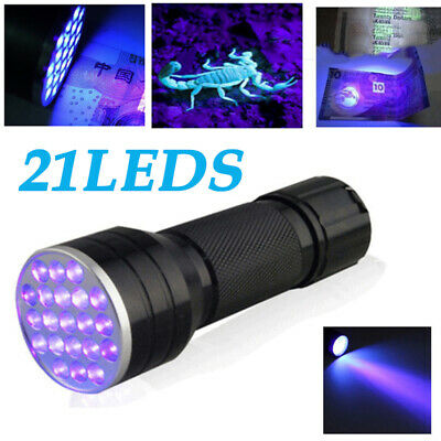 365nm LED High Powered UV Lamp Black Light Ultra Flashlight Super Bright