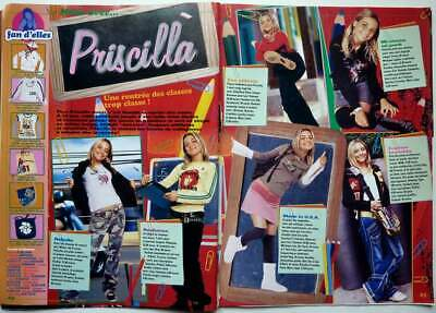 La mode avec PRISCILLA BETTI => COUPURE DE PRESSE 3 pages 2004 / CLIPPING