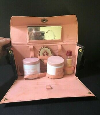 "Vintage Richard Hudnut ""Du Barry""  6 Peice Beauty Set in Carrying Case"