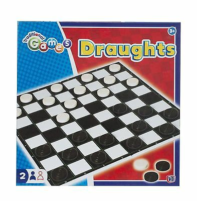 New HTI Traditional Games Draughts Game Family Board Game Toy Kids