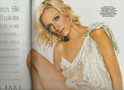 Coupure de presse Uma Thurman french press clipping 2006