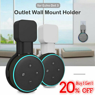 2019 Wall Mount Hanger Holder Bracket For Amazon Echo Dot 3rd Generation Speaker