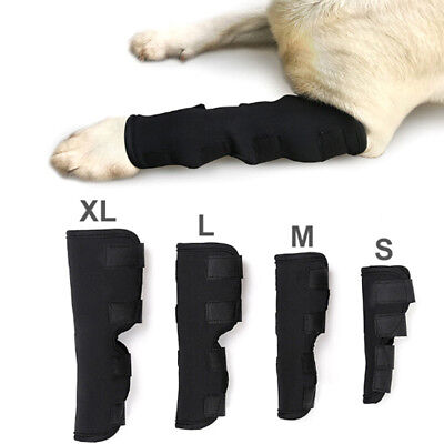 Dog knee support leg protector hock brace rear joint therapeutic pet wrap CPUK