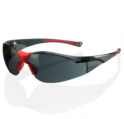 Memphis Safety Safety Glasses BBMESS Smoke Lens Work Spectacle Eye Protection
